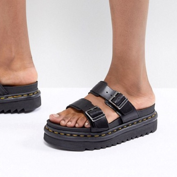843a366e81c5 Dr. Martens Shoes - 🖤 Dr. Martens Myles Slide Sandals